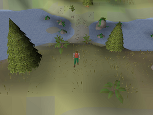 Hot cold clue - south Dragontooth Island
