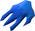 Justiciar's hand detail