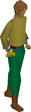 Mithril dagger equipped