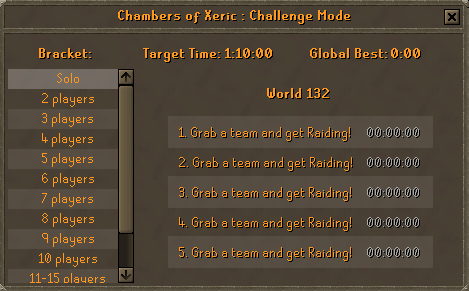 Chambers of Xeric- Challenge Mode Is Here! (4)