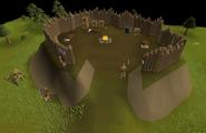 Kourend Woodland barbarian settlement