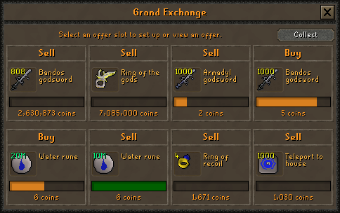 Additional Grand Exchange Slots | Old School RuneScape Wiki