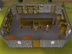 Emote clue - cheer edgeville general store