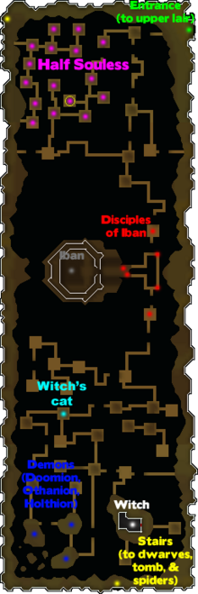 UP Area 4 (Iban's Lair with circle)