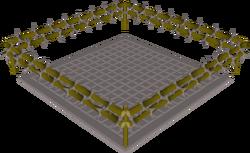 Combat ring built