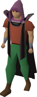 Thieving hood equipped