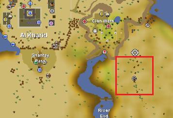 Uzer Hunter area | Old School RuneScape Wiki | FANDOM powered by Wikia