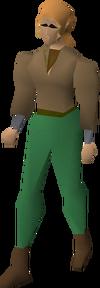 Fremennik brown shirt equipped
