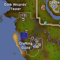 Hot cold clue - outside Crafting Guild map