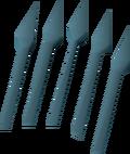 Runite bolts (unf) detail