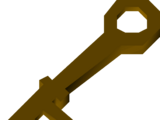 Wrought iron key