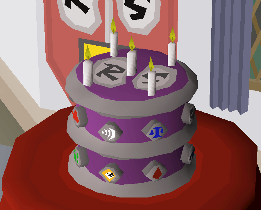 Image Osrs 5th Birthday Cakeg Old School Runescape Wiki