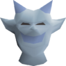 Snow imp costume head detail