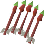 Jade dragon bolts (e) detail