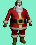 Santa Claus work-in-progress