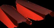 Zamorak bracers detail