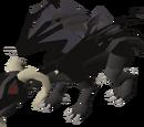 Brutal black dragon