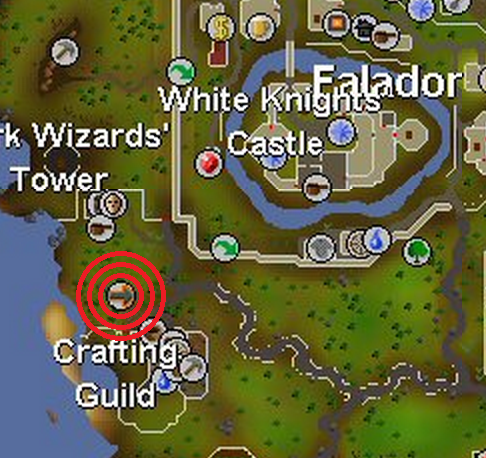 Image - Crafting Guild balloon map.png | Old School RuneScape Wiki ...