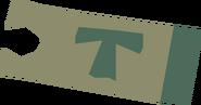 Minecart ticket (Ice Mountain to Keldagrim) detail