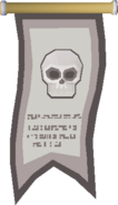 Skeleton Champion's banner