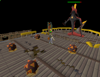 Dragon Slayer II - Galvek's fire traps