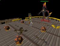 Dragon Slayer II - Galvek's fire traps