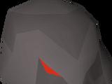 Obsidian helmet