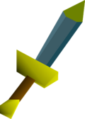 Rune dagger(p) detail