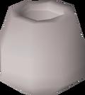 Silver pot (empty) detail