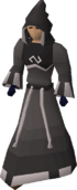 Void mage helm equipped