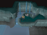 Emote clue - jump ancient cavern