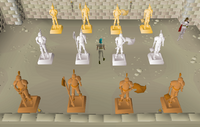 Recruitment Drive - Statue Room
