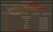 Slayer reward points (Tasks) interface