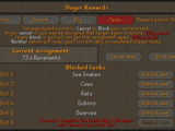 Slayer reward point