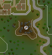 South-east Varrock mine map