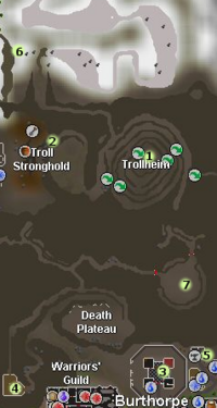 Troll Romance mountain map