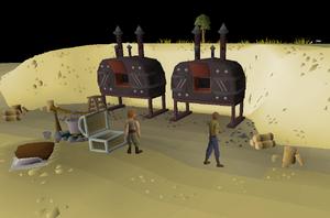 Charcoal furnaces