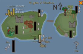 Managing Miscellania - interface