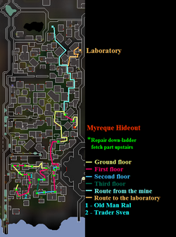 Darkness of Hallowvale map