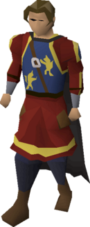 Deadman armour equipped