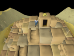 Emote clue - cheer agility pyramid top