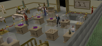 Varrock Museum ground floor