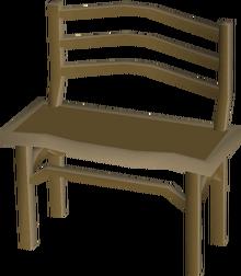 Teak bench built
