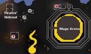 Deep Wilderness Dungeon entrance map
