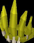 Expert dragon archer hat detail
