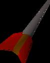 Iron dart detail