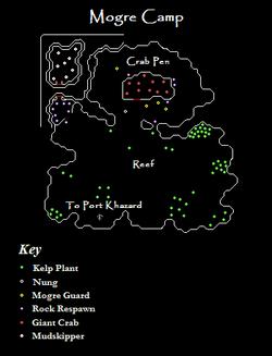 Mogre Camp Map