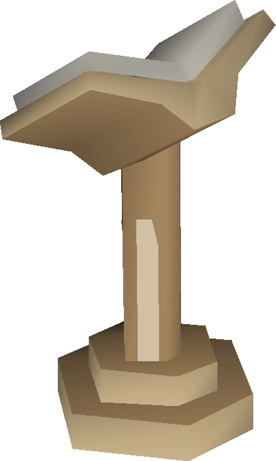 Oak lectern built