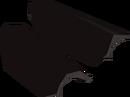 Black d'hide vamb detail