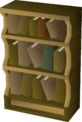 Wooden bookcase built.png